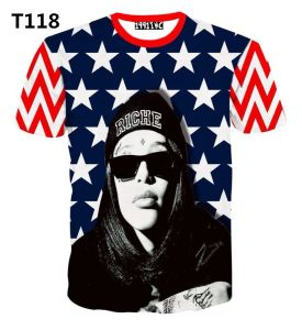 Michale Jackson Sublimation Printed Customized T-Shirts pictures & photos