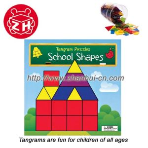 Tangrams, Game Puzzle Toy Plastic Customized Toy pictures & photos