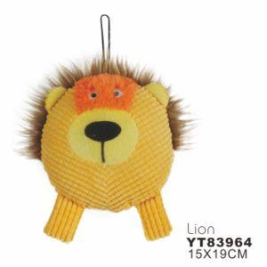 Lion Shape Stuffed Plush Dog Toy (YT83956) pictures & photos