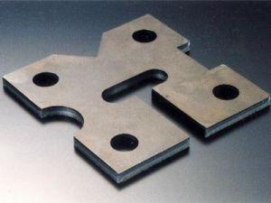 Laser Cutting Part CNC Lathe Machine Part Flat Stamping Part