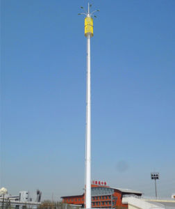 Hot DIP Galvanized Monopole Telecommunication Tower pictures & photos