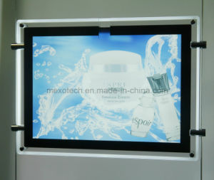LED Backlit Acrylic Poster Light Box pictures & photos