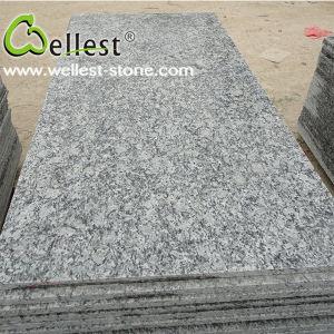 G418 Sea Wave White Granite, Flower Wave White Granite, Spray White Grantie pictures & photos