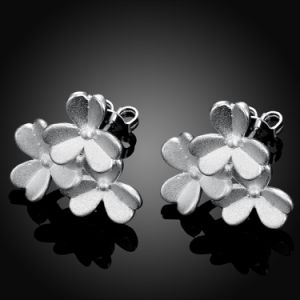 Fashion Clover Cascade Earrings Design for Western Elegant Women Silver Plated pictures & photos
