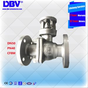 Pn40 CF8m Flanged Floating Ball Valve pictures & photos