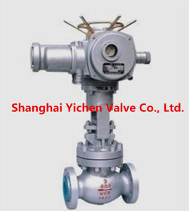 Power Station High Temperature High Pressure Self Sealing Electric Globe Valve pictures & photos