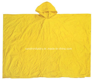 0.10mm Quadrate 100% PVC Rain Cape 50′′*80′′ R9045 pictures & photos