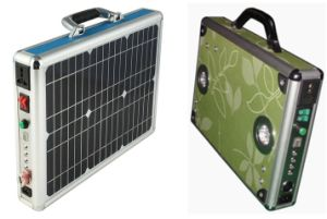 20W Solar Power System Portable Case Box pictures & photos