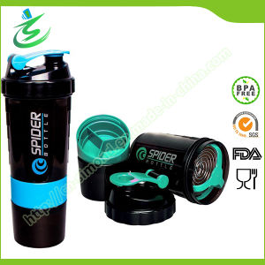 500ml Spider Shaker Bottle, PP Material, Food Grade pictures & photos