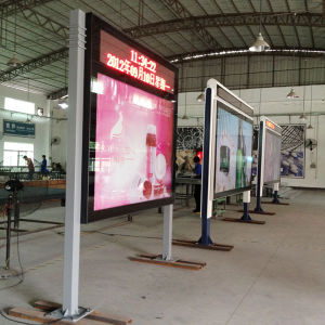 Outdoor Airport Road Sign Double Side Scrolling Lightbox pictures & photos