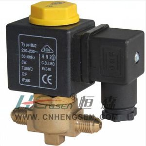 "D C F -02 Flare Refrigeration Solenoid Valve 1/4"" S a E /Normally Closed Solenoid Valve/Direct Operation Solenoid Valve Suitable for Air Conditioning System pictures & photos"