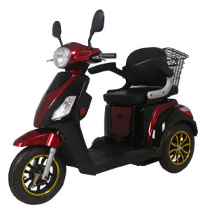 Hot Sale 500W Electric Scooter with Three Wheel for Elderly People pictures & photos