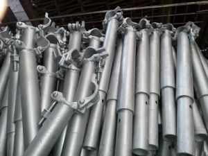 48.3mm Steel Galvanized Scaffolding Forged Coupler Welded with Spigot pictures & photos