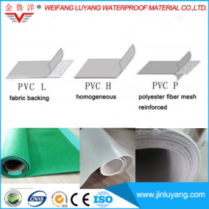 PVC Roofing Material High Quality Polyvinyl Chloride Waterproof Membrane pictures & photos