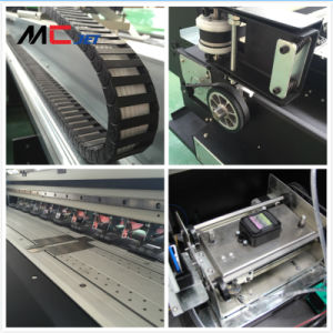 Mcjet High Speed Flatbed Digital Flex Printing Machine with Epson Dx10 for Sav pictures & photos