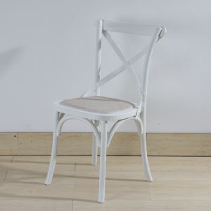 Wood Rattan Chair White Color pictures & photos