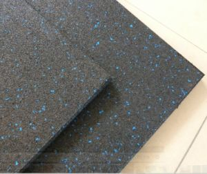 Non-Toxic Wear-Resisting Rubber Non-Slip Gym Rubber Floor Mat Roll pictures & photos