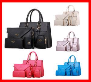 Handbags Set Ladies PU Handbags Set 5PCS in One Set