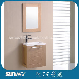 Hot Sale Melamine Surface Bathroom Furniture with Sink (SW-ML1205) pictures & photos