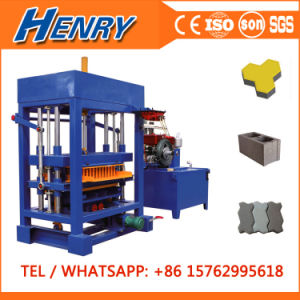 Qt4-30 Diesel Engine Concrete Hollow Block Brick Paver Block Machine Price Sale in Zambia pictures & photos