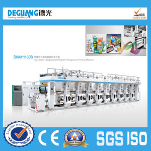 Fully Automatic High Speed Computerize Rotogravure Printing Machine (DNAY1100B Model) pictures & photos