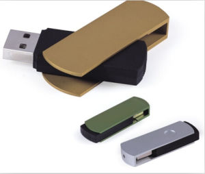 Hot-Selling Metal Swivel USB Flash Drive. pictures & photos