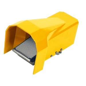 """5 Way 2 Position 1/4"""" Pneumatic Foot Pedal Valve Foot Air Pedal Valve Control with Cover Cup"""