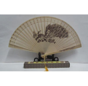 OEM New Design Wooden Hand Fan pictures & photos