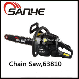 Gasoline Power Tool Chain Saw 63810 with CE/EMC/GS