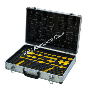 Aluminum Makeup Tool Case (TOOL-008) pictures & photos