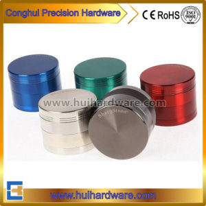 4 Part CNC Weed Grinder Aluminum 2.2 2.5 Inches Herb Grinder pictures & photos