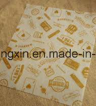 Food Grade PE Coated Hamburger Wrapping Paper pictures & photos