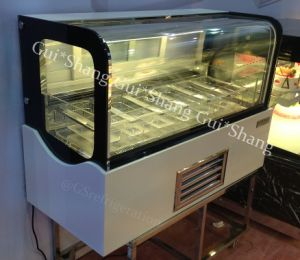 Square Ice Cream / Gelato Freezer (display)