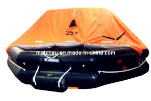 Throw Over Board Inflatable Solas 35man Liferaft pictures & photos