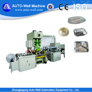 Aluminum Foil Food Container Production Line (CE ISO) pictures & photos