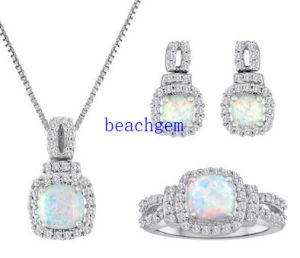 925 Sterling Silver Jewelry Set in Opal (S1277) pictures & photos