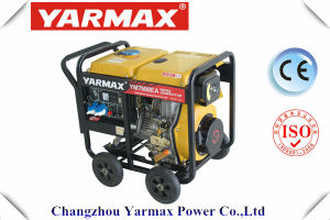 Yarmax Open Frame Single Phase 8kVA 8kw Diesel Genset Electric Generator pictures & photos