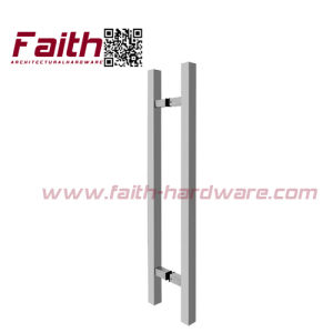 Square H Shape Stainless Steel Glass Door Handle (pH. 115. SS) pictures & photos