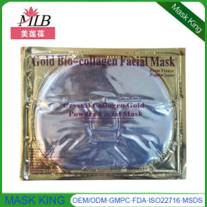 Gold Foil Gel Collagen Face Mask with GMP/FDA pictures & photos