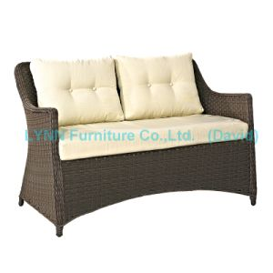 Wicker Love Seat Sofa Garden Chair Garden Furniture pictures & photos