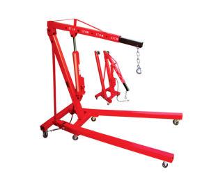 2ton Pneumatic/Hydraulic Shop Crane Engine Cherry Picker Hoist Lift pictures & photos