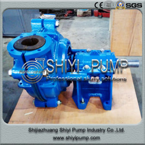 High Pressure Single Suction Rubber Lined Horizontal Water Treatment Centrifugal Slurry Pump pictures & photos