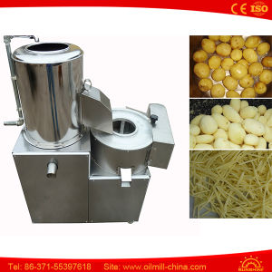 Industrial French Fries Chips Making Potato Washing Peeling Slicing Machine pictures & photos
