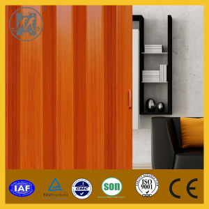 Sliver PVC Folding Door, PVC Accordion Door, PVC Door pictures & photos