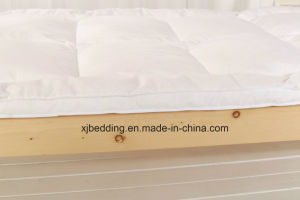 Microfiber Fabric Duck Feather Mattress Topper Bed Cover pictures & photos