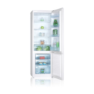 White Color Double Home Saving Energy Fridge Freezer pictures & photos