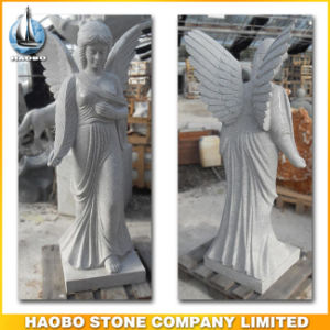 Quality Granite Angel Sculpture for Sale pictures & photos