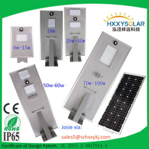 2016 Integrate 15W Solar Street Light with Pole pictures & photos