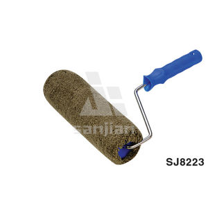 Sj8223 EU Style Paint Roller Brush with Polypropylene Tube pictures & photos