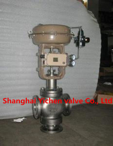 ABB Positioner Three-Way Pneumatic Diaphragm Control Valve pictures & photos